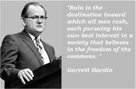 Hardin tragedy of the commons essay writing