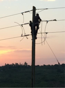Building out the grid in Western Kenya