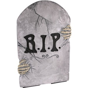 fake tombstone