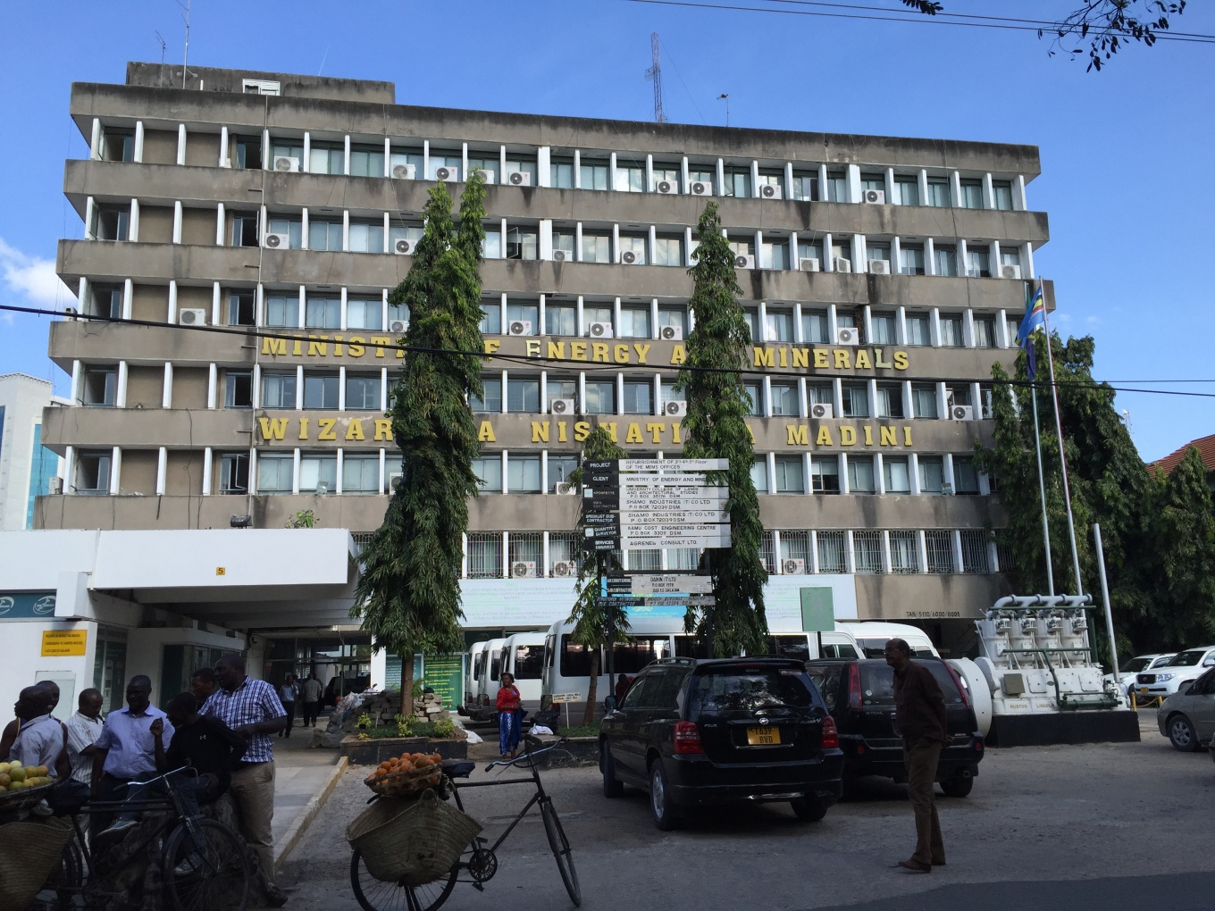 Ministry of Energy and Minerals, Dar es Salaam